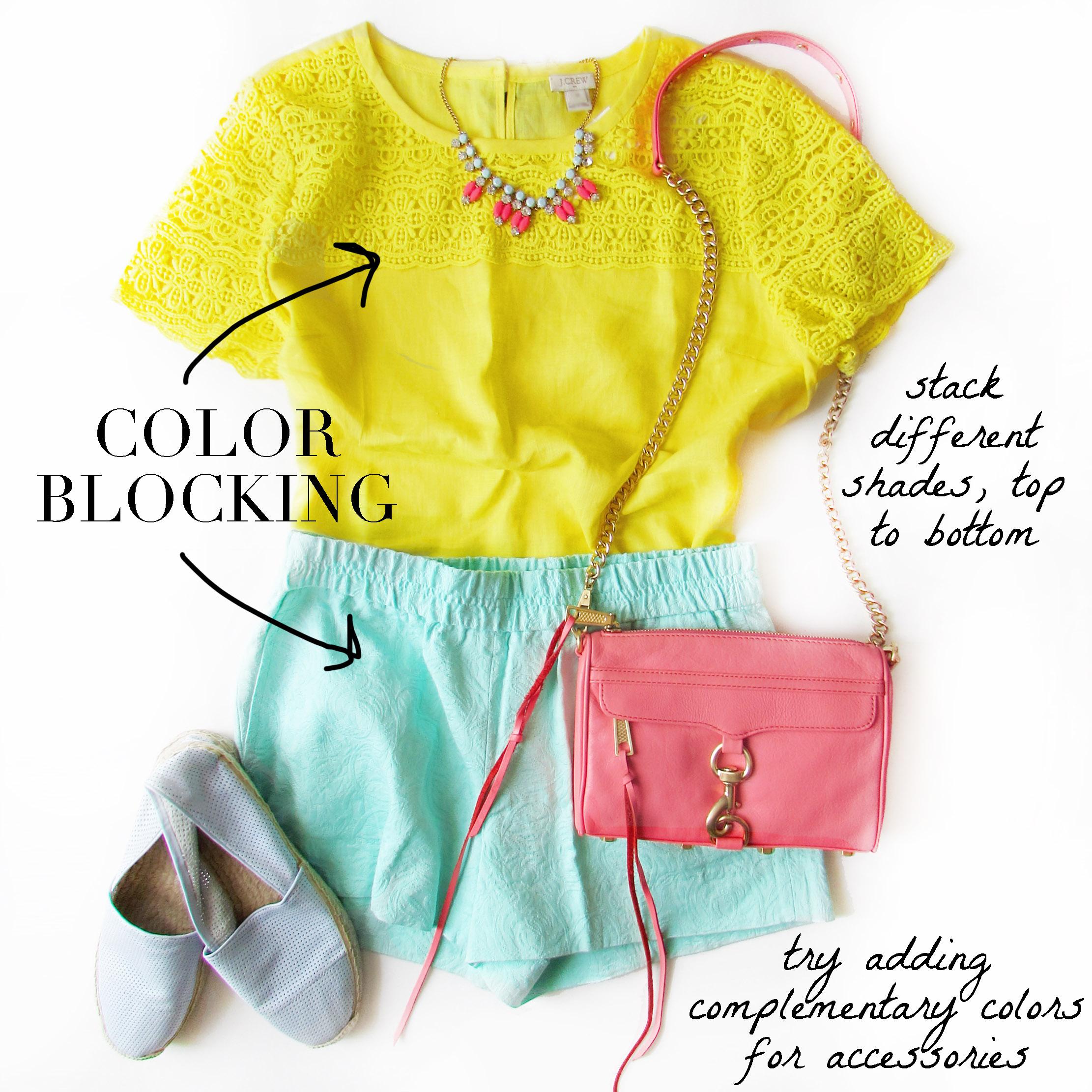 Trend - Color Blocking
