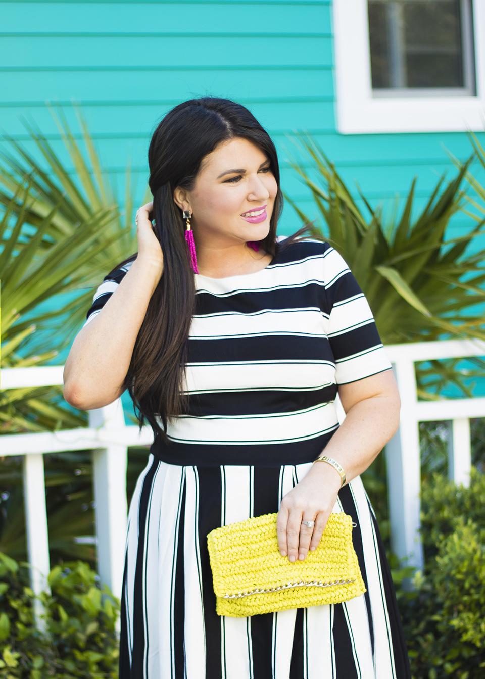 BW Ladylike Stripes 30A Street Style 4