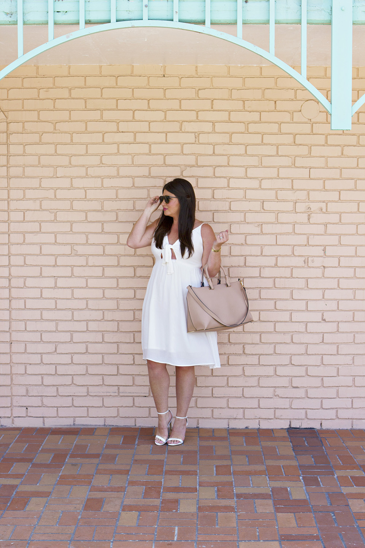 30A Shopping White Memorial Day Dress