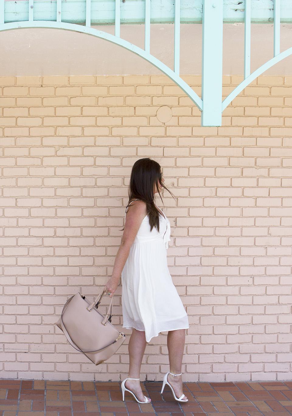 White Tie Front Dress 6 Web