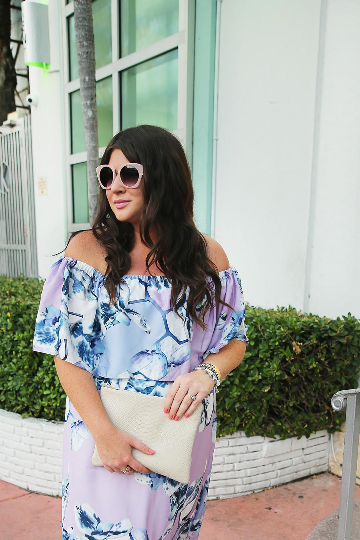 Miami Off the Shoulder Floral