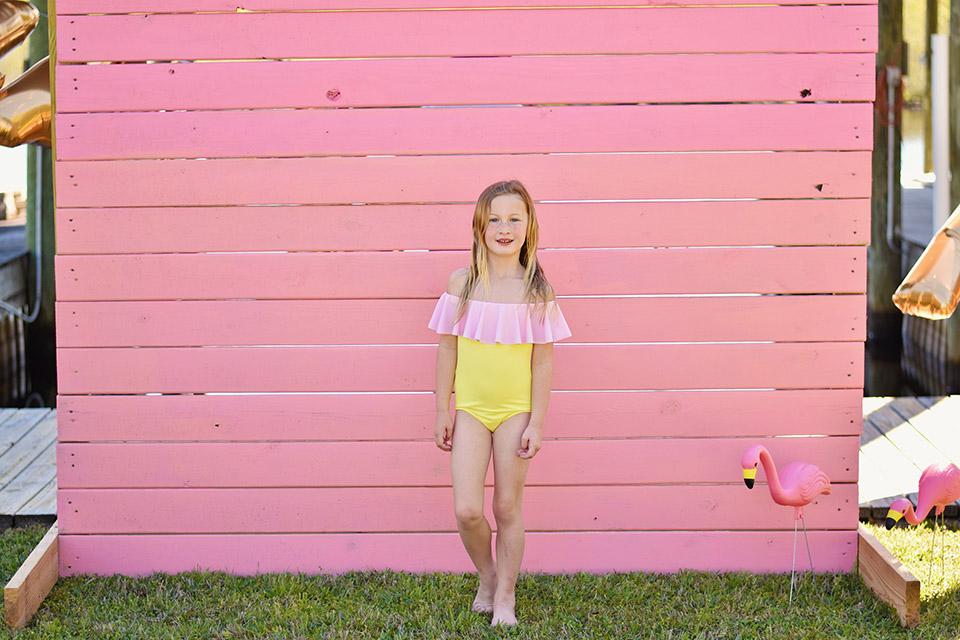 6th Birthday Flamingle - Stella Cove style