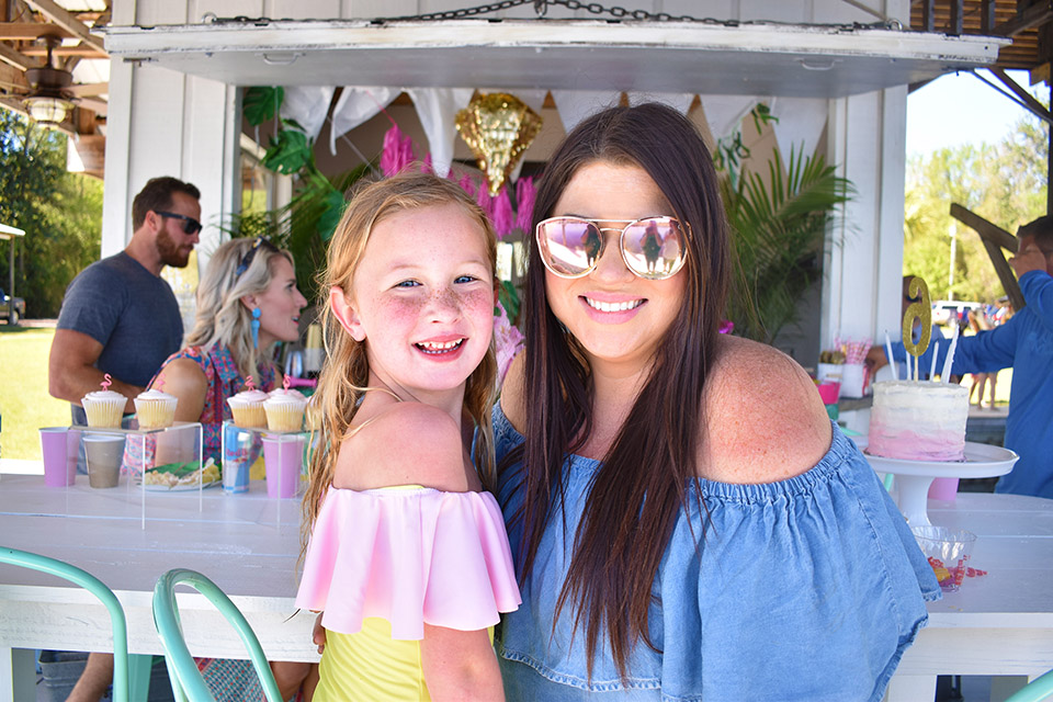6th Birthday Flamingoe - Emery and Jami
