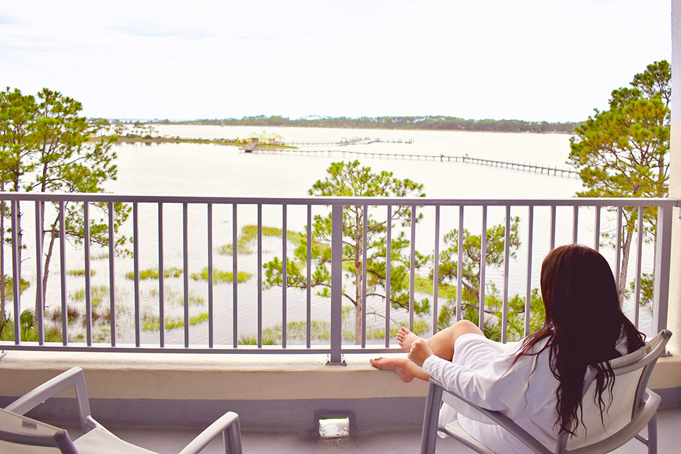 30A Street Style Sheraton Bay Point - Morning View