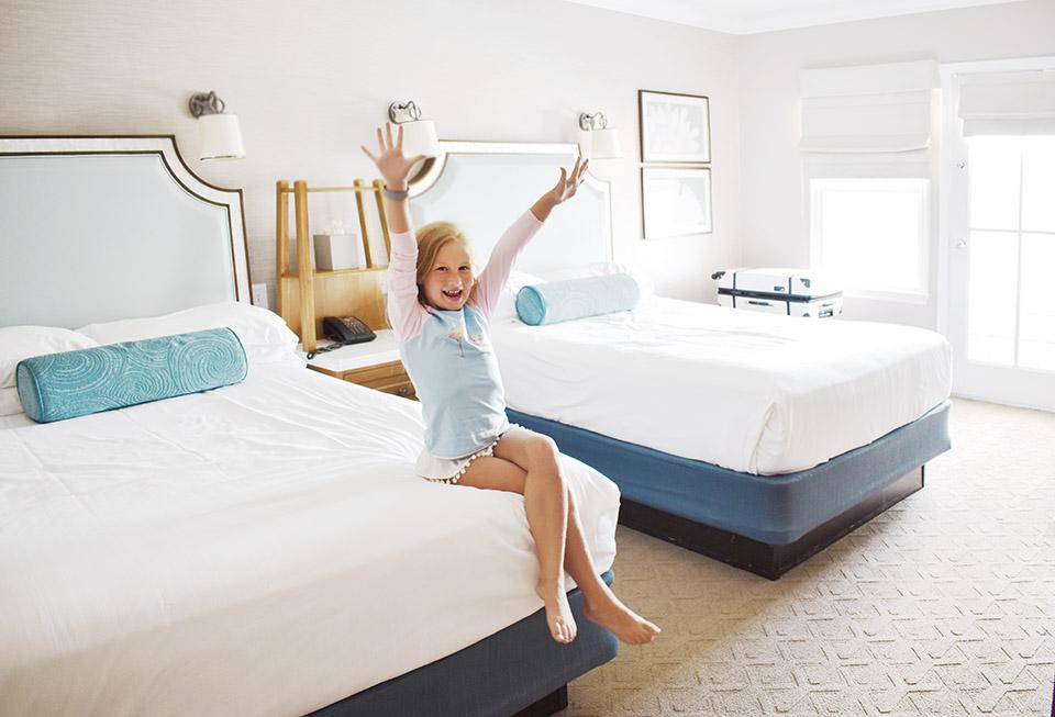 Disney Springs Back to School - Disney Beach Resort Room