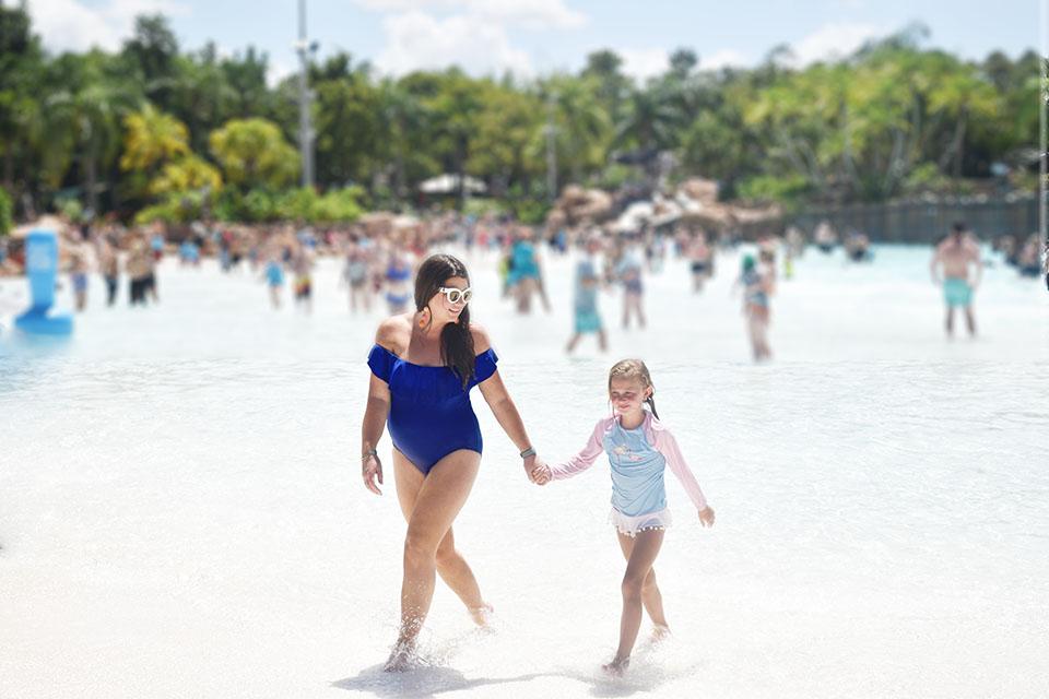 Disney Springs Back to School - Typhoon Lagoon Wave Pool