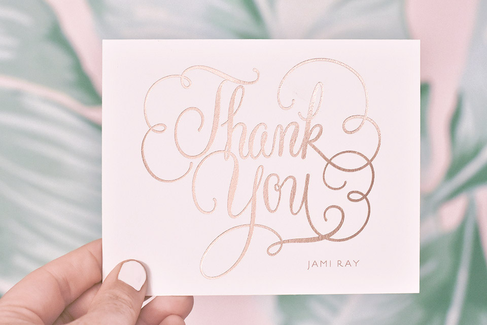 Minted Thank You Notes