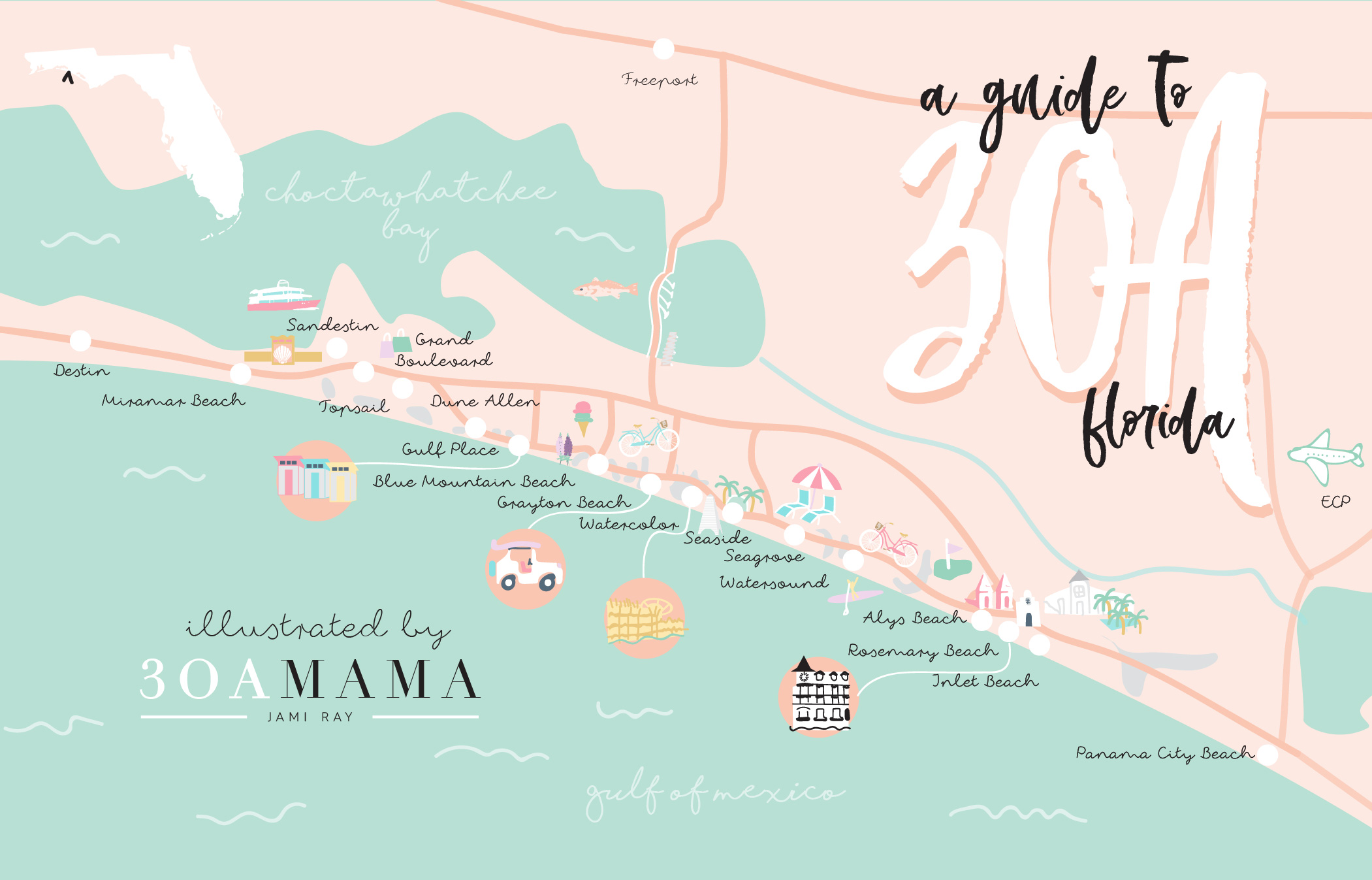Guide to 30A Florida