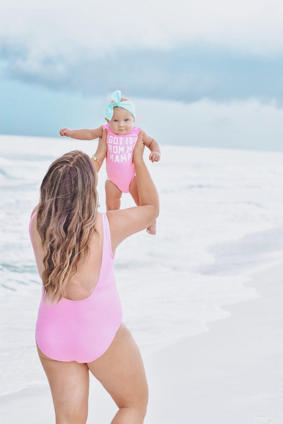 30A Mama - Family Beach Day on Grayton Beach with 30A Rosé + 30A Beach Blonde