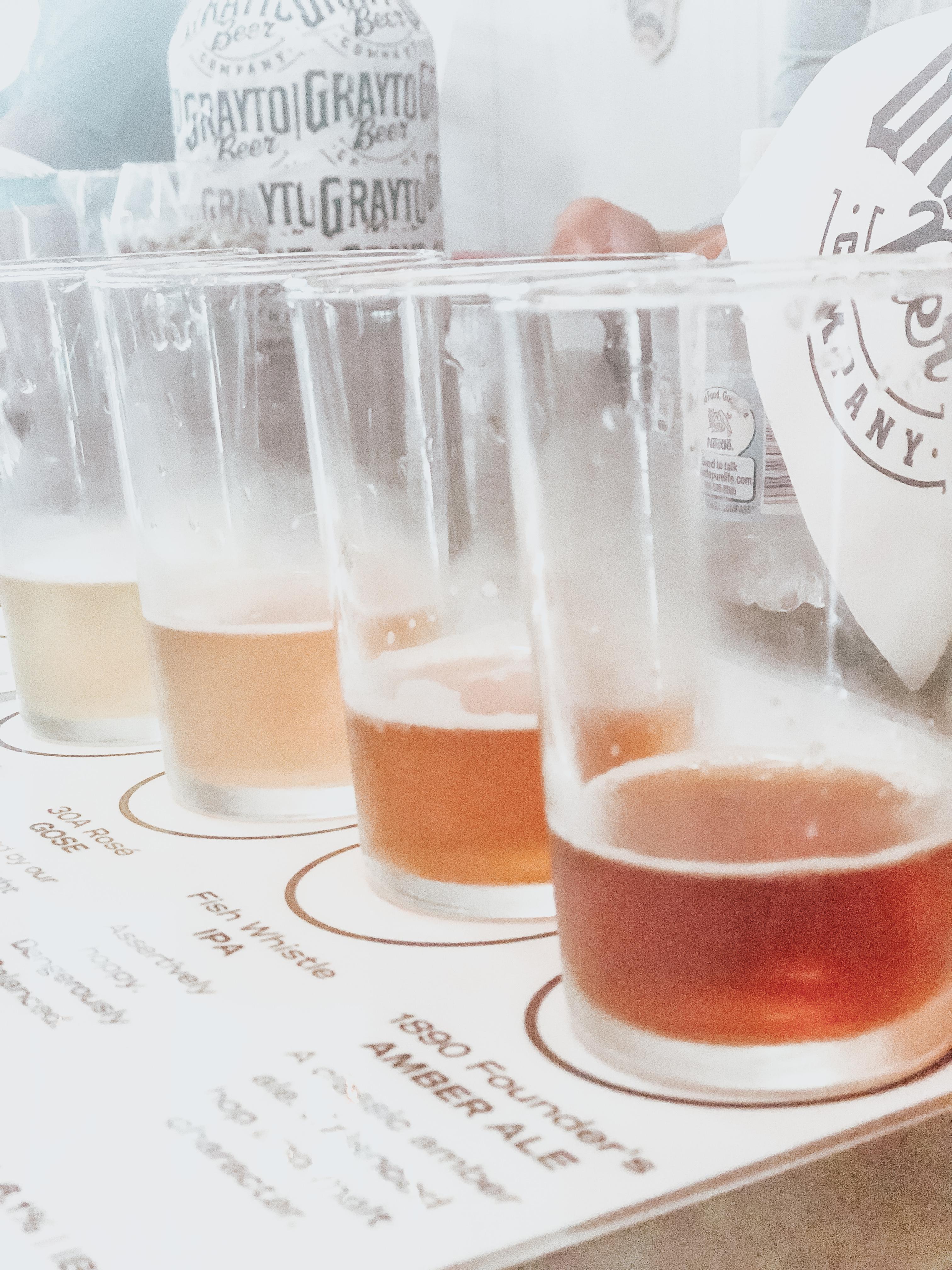 30A Blogger Weekend - Grayton Beer Tasting