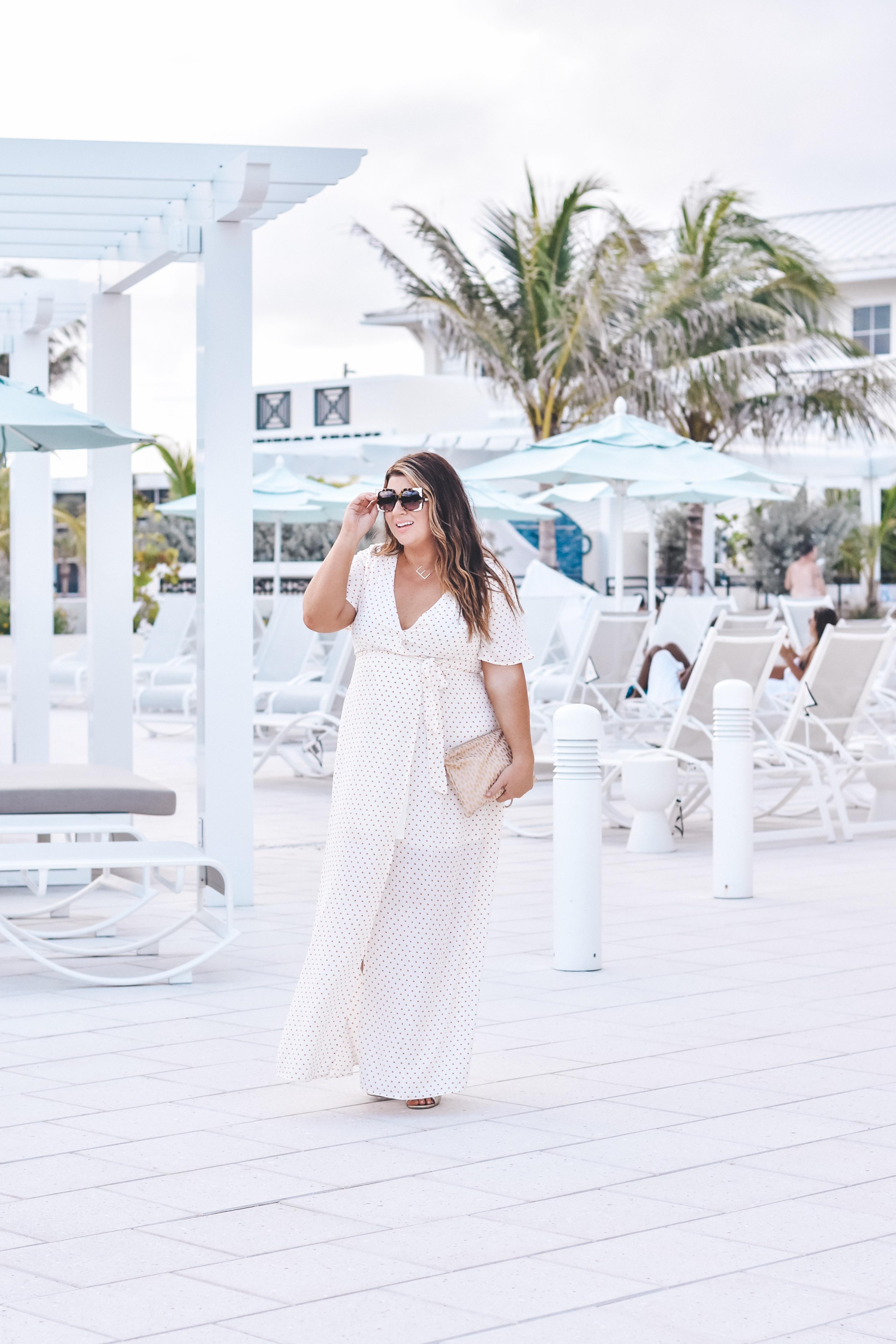 Hutchinson Shores - 30A Mama Travel - Resort Style - Beach Maxi Dress - Erika Powell Clutch