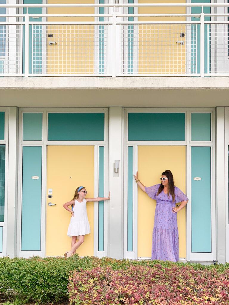 30A Mama Travel - Cabana Bay at Universal Yellow Doors