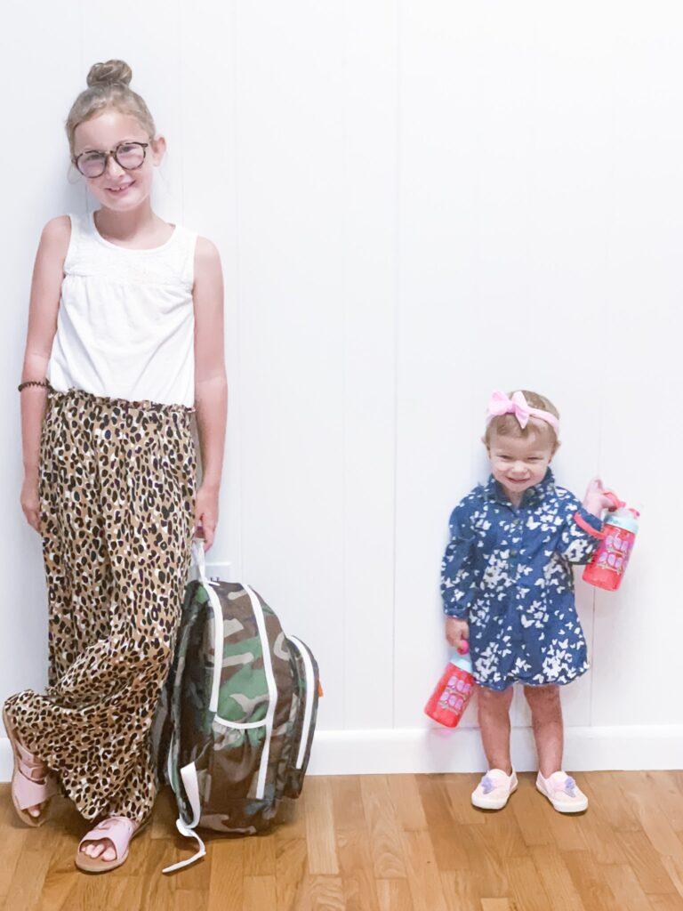 School Clothes We Love - 30A Mama leopard pants