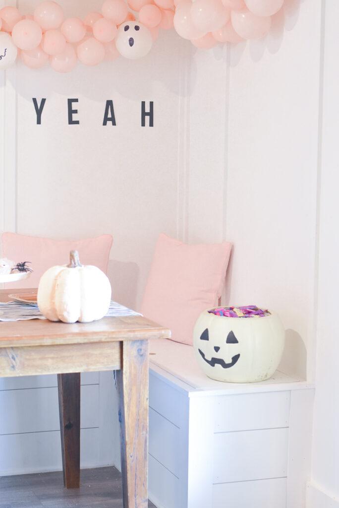 30A Mama Walmart Halloween White Pumpkin