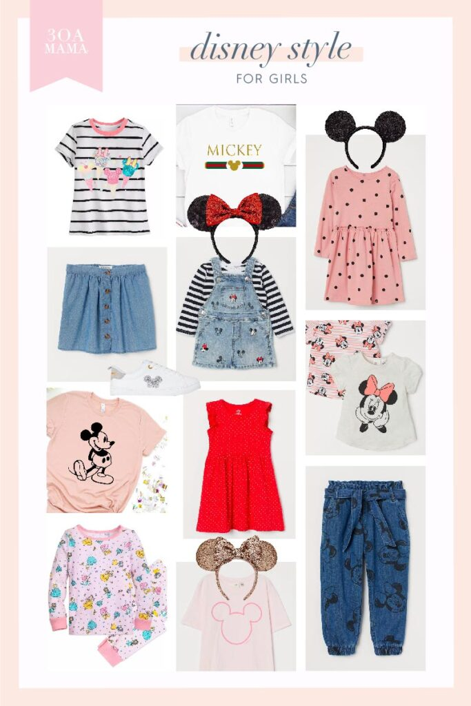 30A Mama Disney Style for Girls