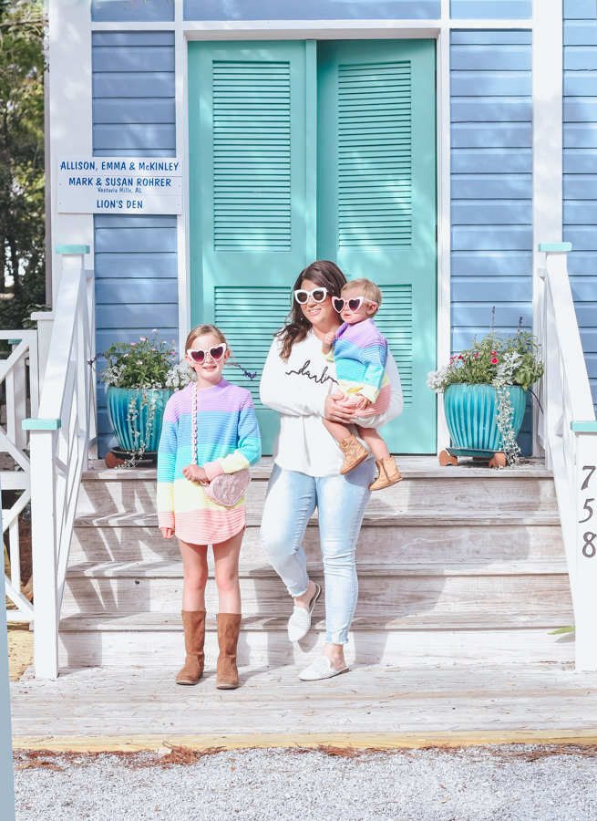 30A Mama blog - Seaside Cottage Rental Agency - Whatcha Dune - walking along Forest St