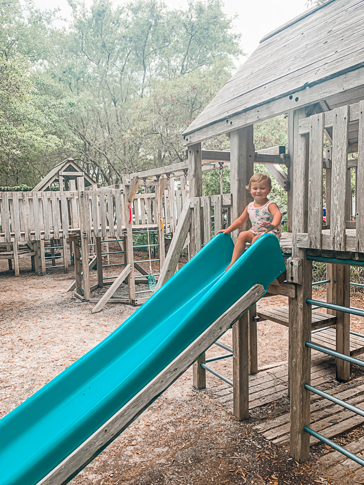30A Playgrounds - Rosemary Beach wooden playground