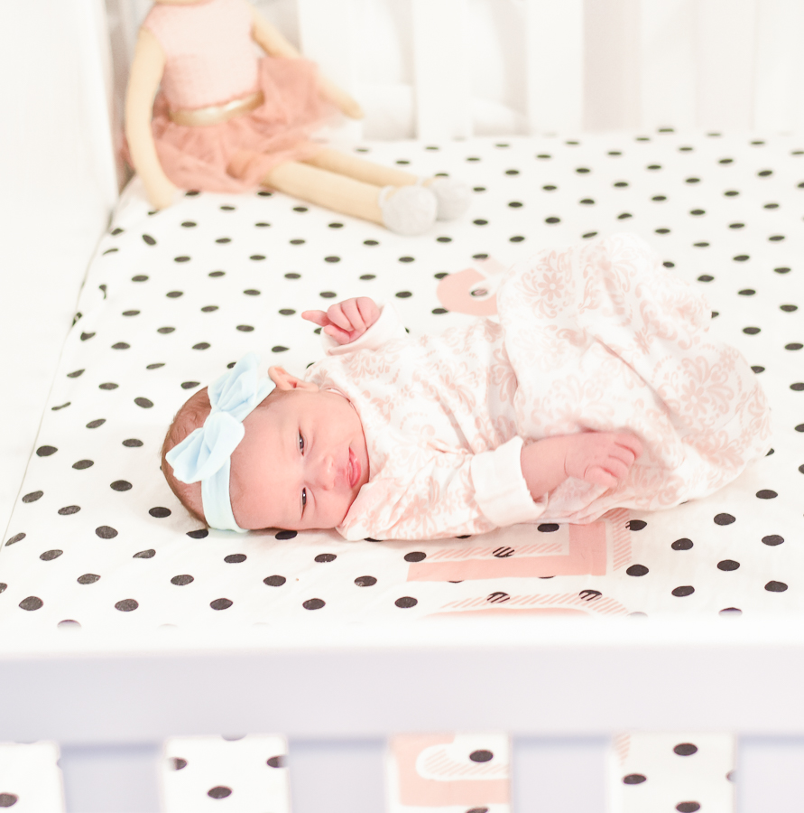 30A Mama - Mini Nursery for Collins - custom sheets