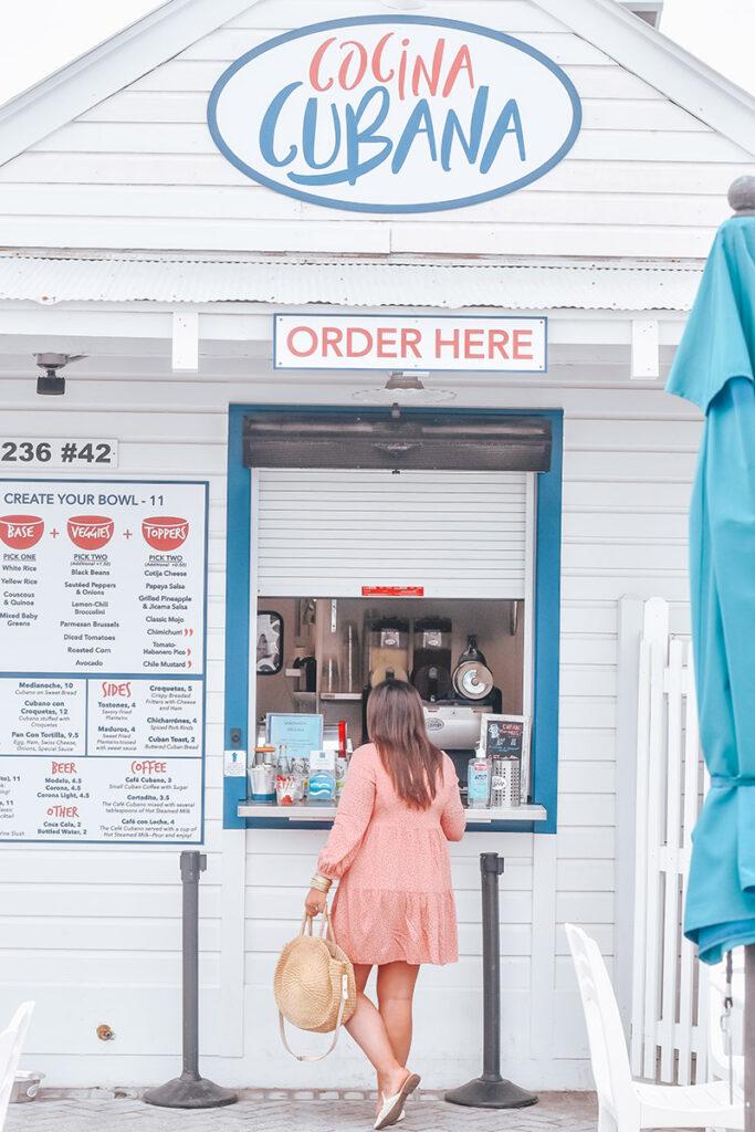 30A Restaurants to Try - Cocina Cubana in Seaside