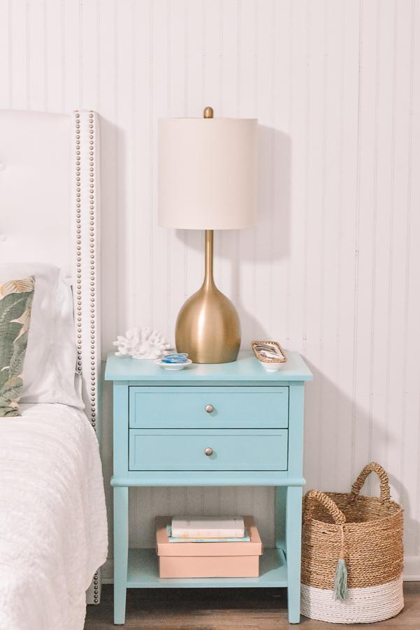 Jami Ray 30A Mama light blue nightstand home decor coastal
