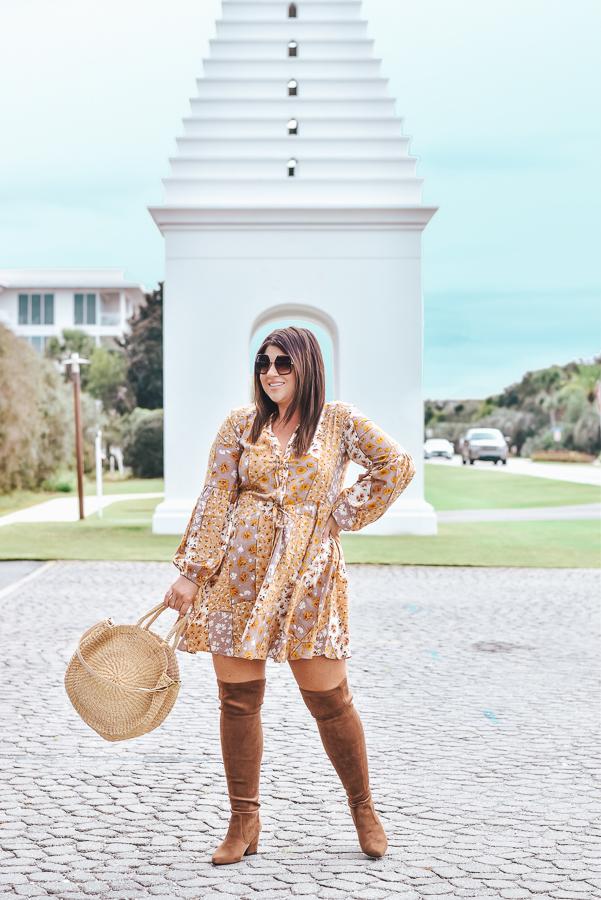 30A Mama Shop FIeld of Dreams Dress- Alys Beach
