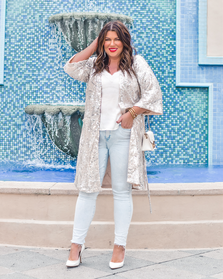 30A Mama Shop Steal My Breath Sequin Duster