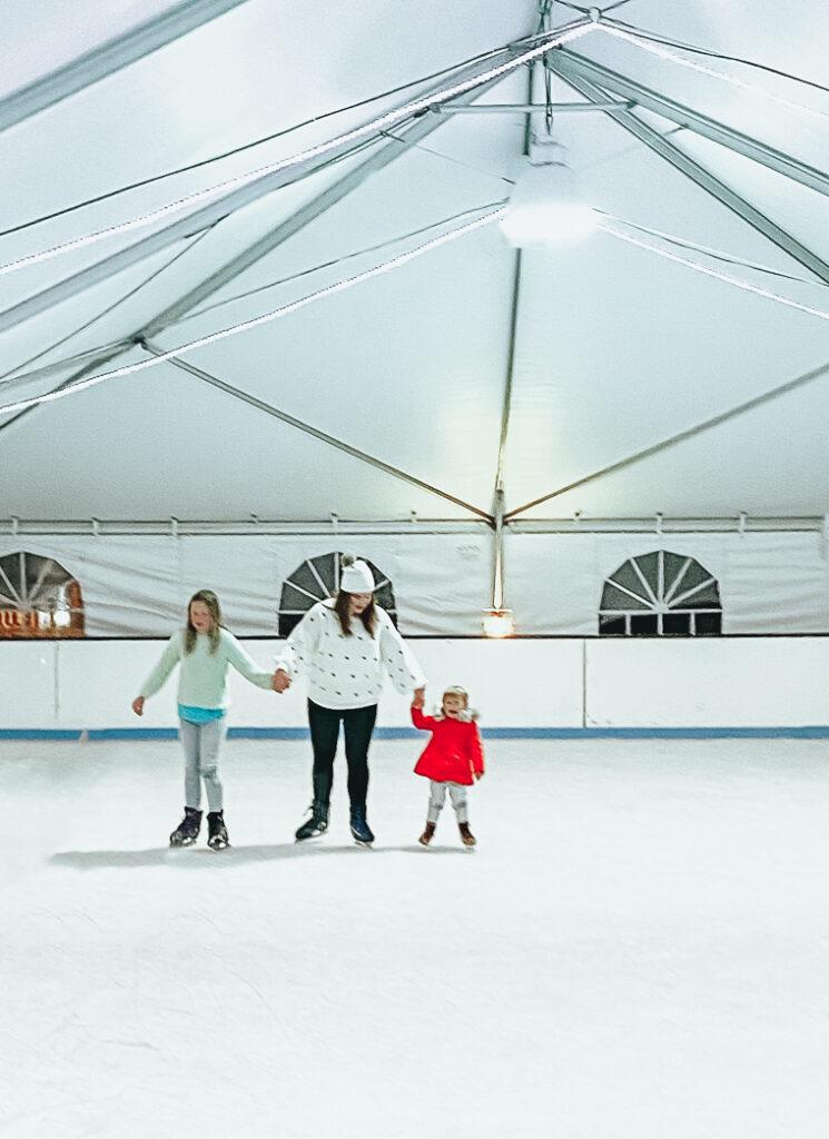 30A Mama Christmas on 30A Baytowne on Ice Sandestin