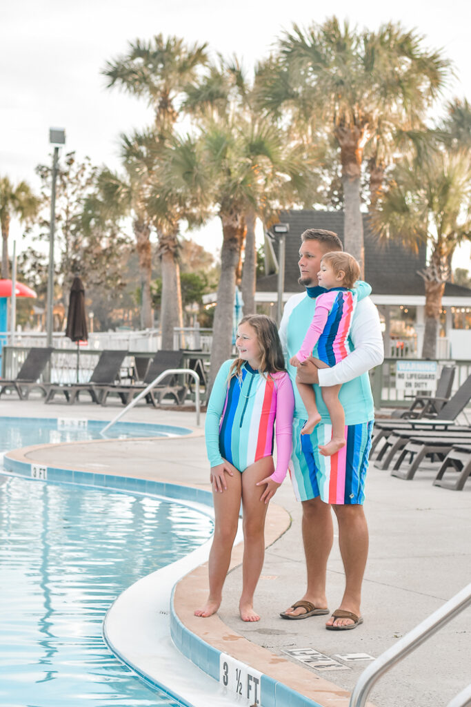 30A Mama Travel - Swim with the Manatees in Crystal River wearing Cabana Life