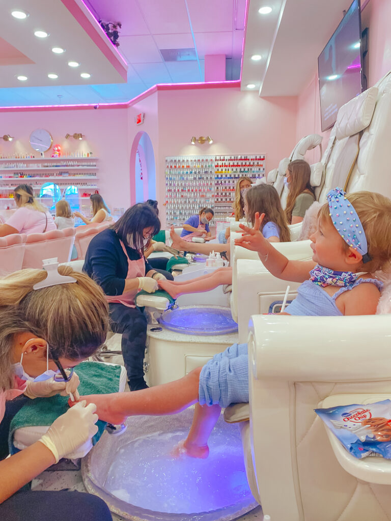 30A Mama - Pink Nail Salon Mommy and Me