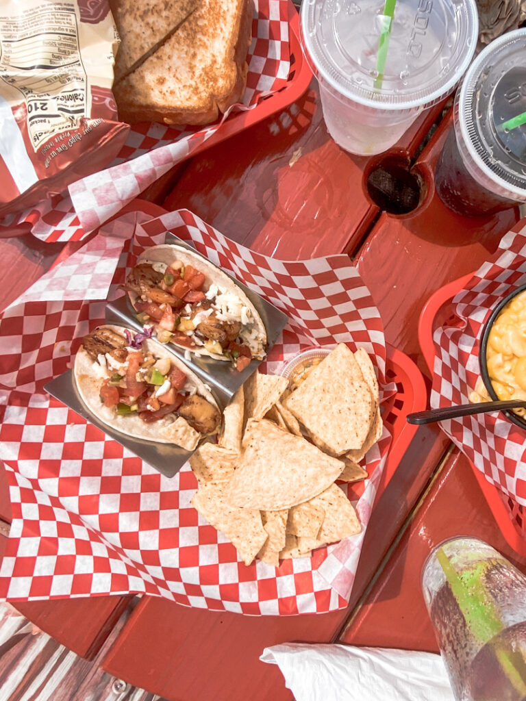 30A Mama - What to Eat on 30A- Drunken Shrimp Tacos Cowgirl Kitchen