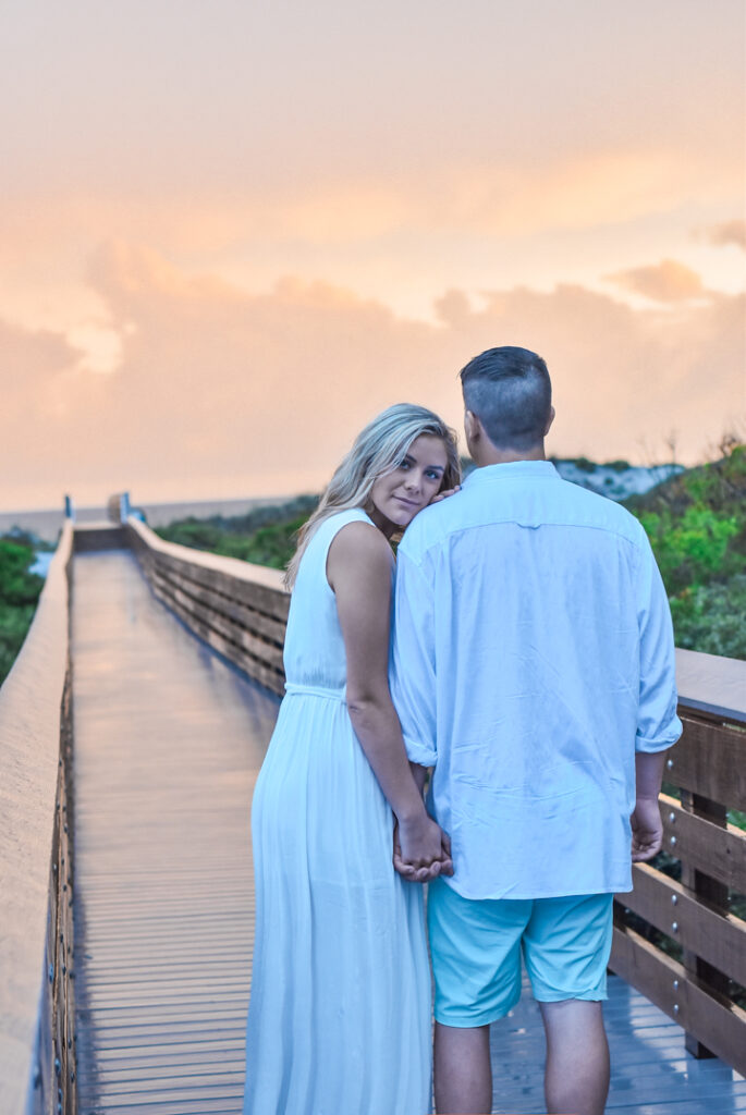30A Mama Engagement Photography Rosemary Beach Inlet Beach