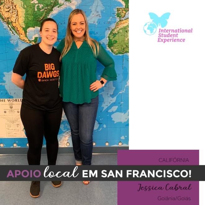 Apoio Local em San Francisco - Jessica Cabral
