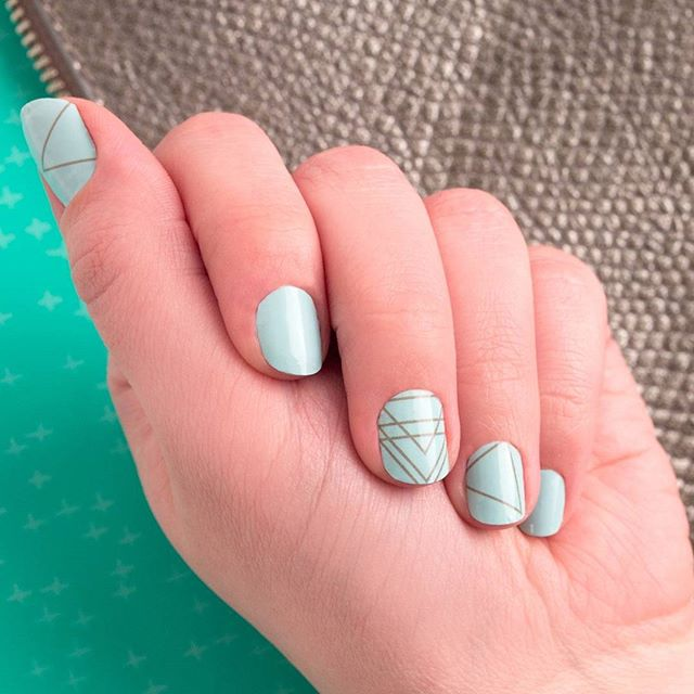 Incoco Mint Minimalist Nail Art available at Ulta Beauty