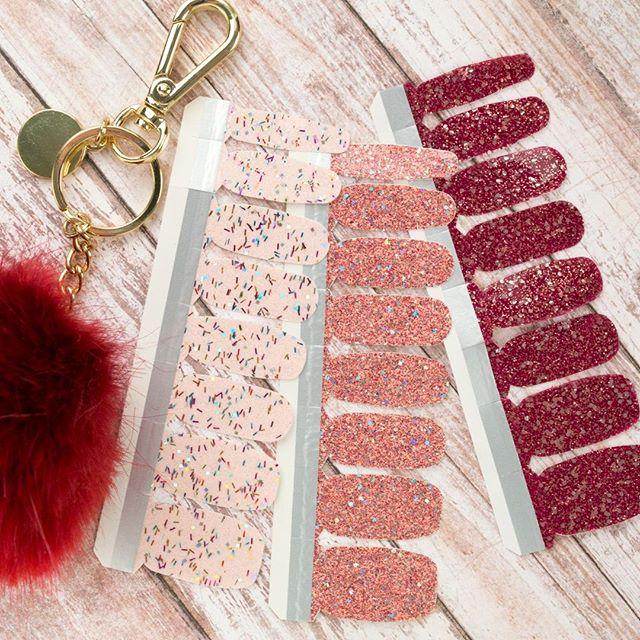 Incoco Glitter Nail Polish Appliques