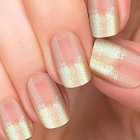 Gold Dust 100% Incoco Nail Polish Appliques - available at Ulta