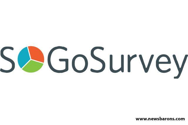 SoGoSurvey Logo image, SoGO Survey web portal images, SoGOSurvey Startup news