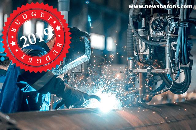 Manufacturing Budget 2019