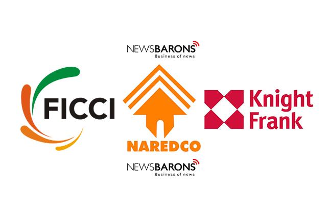 ficci logo, naredco logo and knightfrank logo