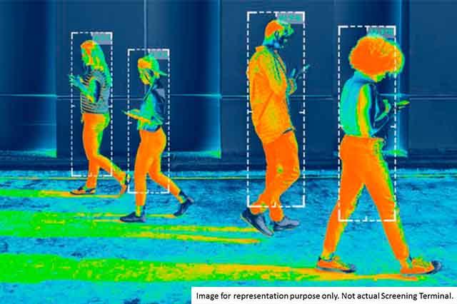 Globus Infocom introduces AI screening terminals with advanced temperature sensors