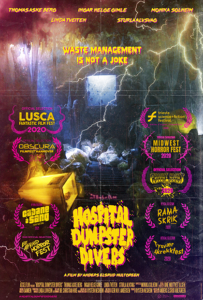 <strong>Hospital Dumpster Divers</strong></br>Dir Anders Elsrud Hultgreen</br> Noruega