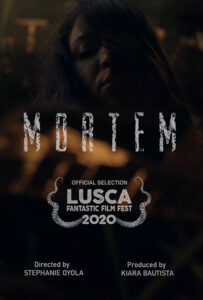 <strong> Mortem </strong> </br> Dir Stephanie Oyola </br> Puerto Rico