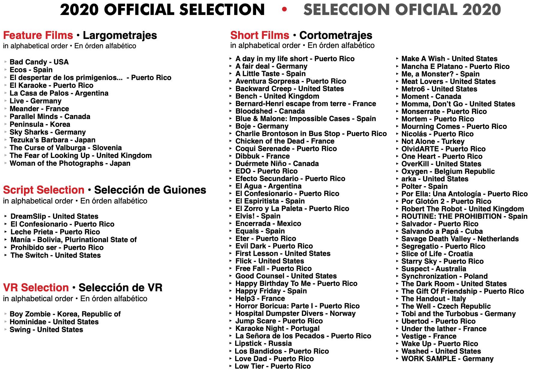 Selection2020