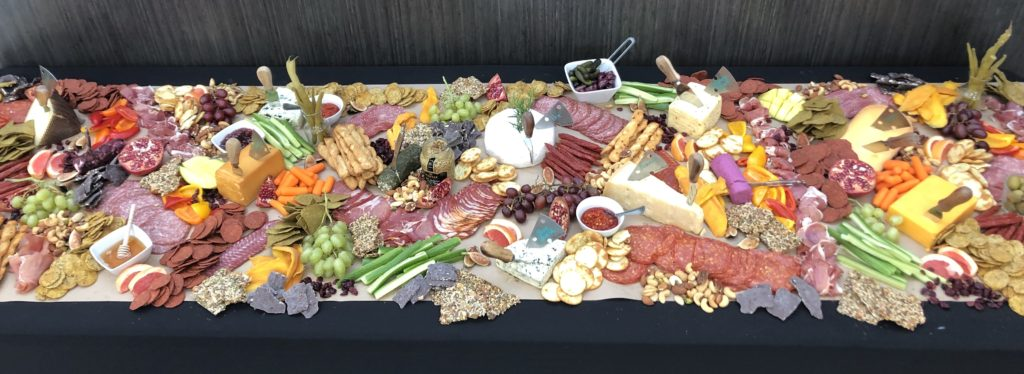 charcuterie table