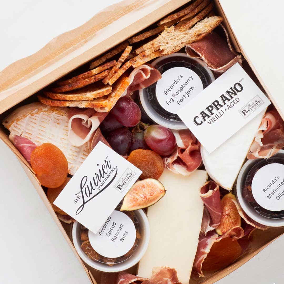 Vine & Vintage food box