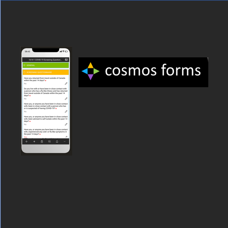 Cosmos Forms releases COVID-19 Form