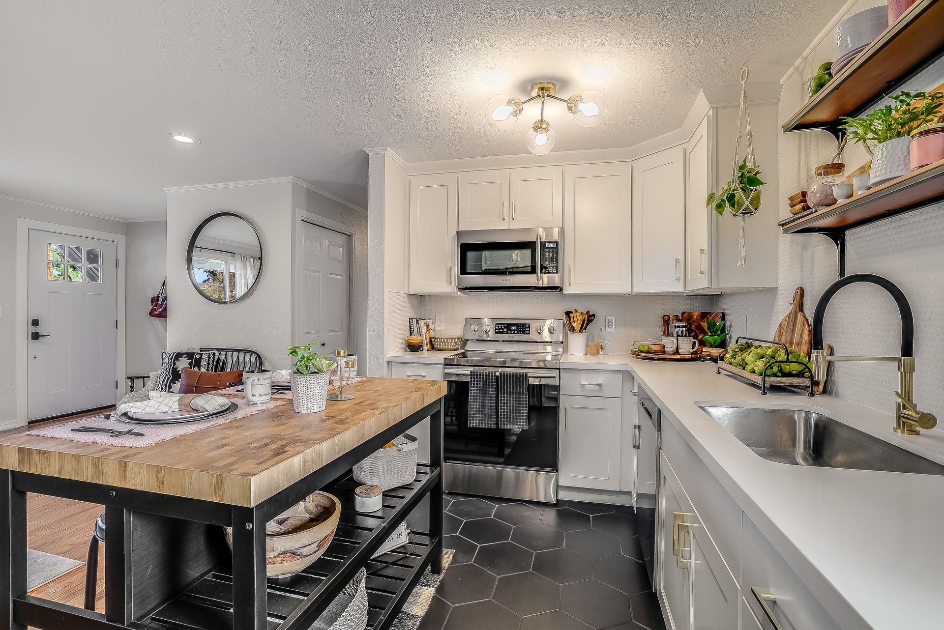 farmhouse kitchen style from JL Remodeling