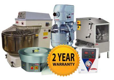 New 2 Year Warranty