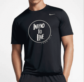 Intend to Live - Nike Legend 2.0 Tee