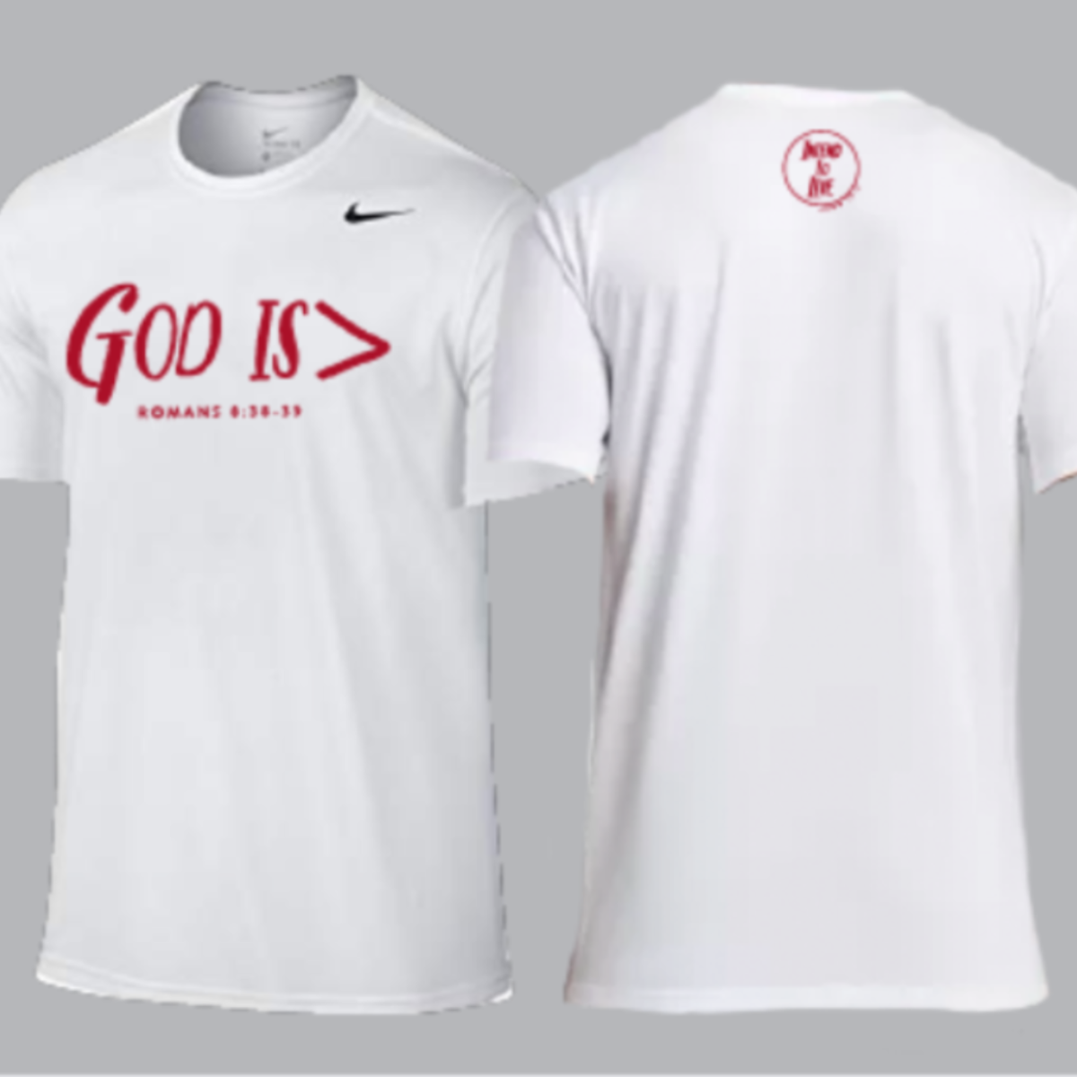 God is > Nike Running Shirt