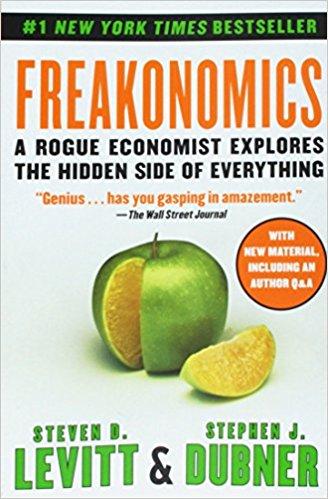 Freakanomics Book Cover